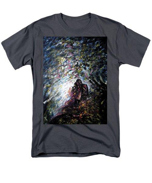 Love In Niagara Fall Men's T-Shirt  (Regular Fit)