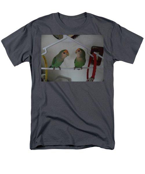 Lovebirds Men's T-Shirt  (Regular Fit) by Val Oconnor