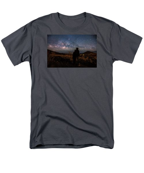 Loveing The  Universe Men's T-Shirt  (Regular Fit) by Eti Reid