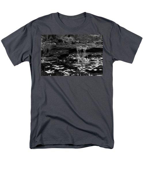 Low Falls Men's T-Shirt  (Regular Fit) by Jeff Severson