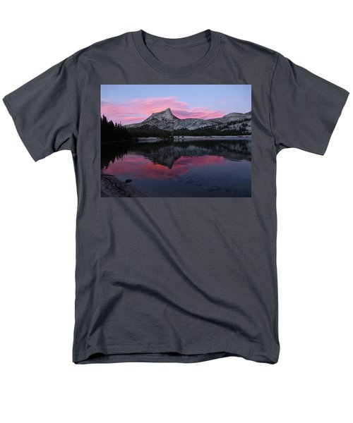 Lower Cathedral Lake Sunset Men's T-Shirt  (Regular Fit) by Amelia Racca