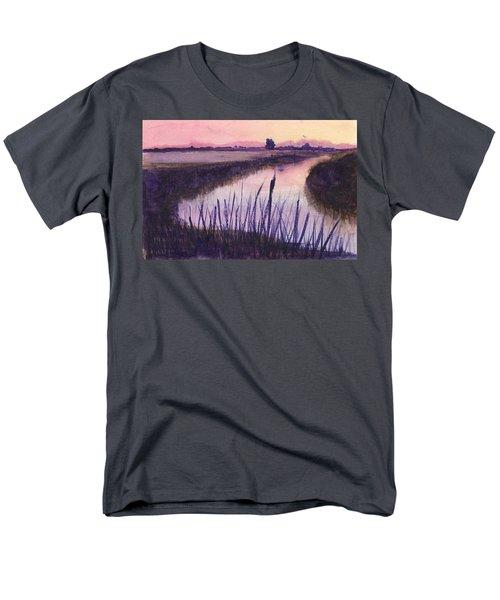 Loxahatchee Sunset Men's T-Shirt  (Regular Fit) by Donna Walsh
