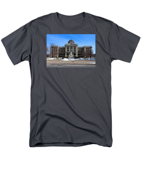 Men's T-Shirt  (Regular Fit) featuring the photograph Lucas County Courthouse I by Michiale Schneider