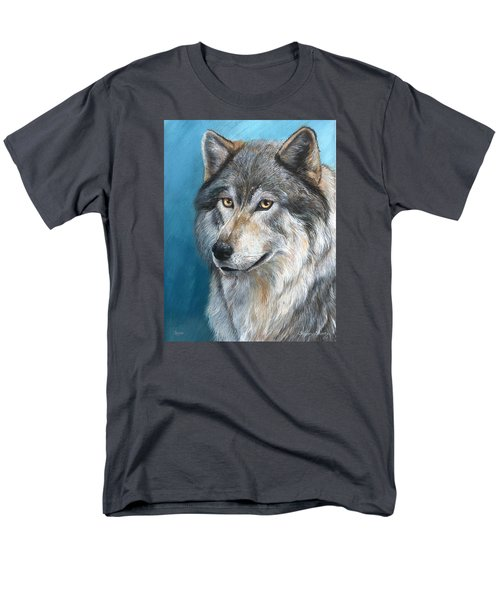 Men's T-Shirt  (Regular Fit) featuring the painting Luna by Sherry Shipley