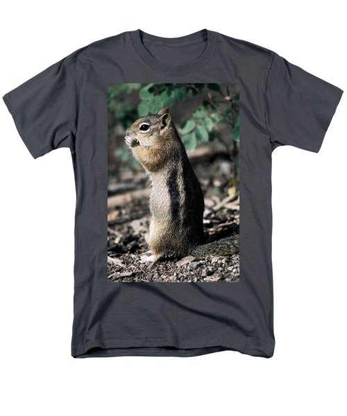 Lunchtime For Ground Squirrel Men's T-Shirt  (Regular Fit) by Sally Weigand