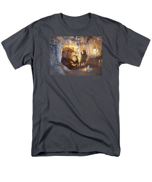 Luray Caverns Men's T-Shirt  (Regular Fit) by Richard Bryce and Family