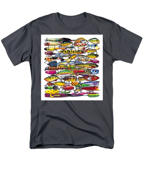 Men's T-Shirt  (Regular Fit) featuring the painting Lured by JQ Licensing