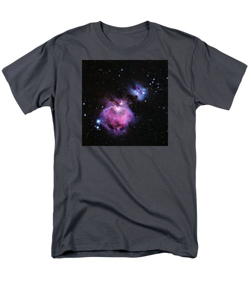 M42--the Great Nebula In Orion Men's T-Shirt  (Regular Fit) by Alan Vance Ley