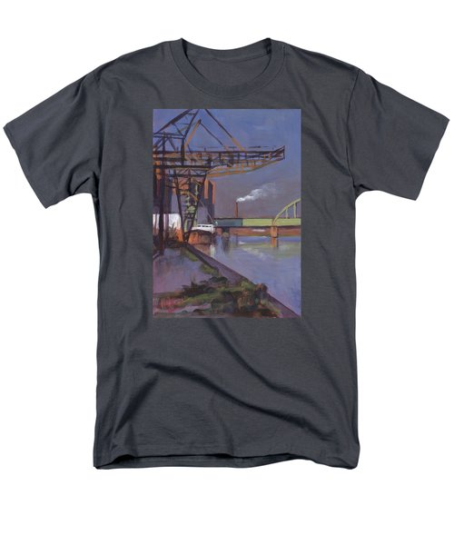 Maastricht Industry Men's T-Shirt  (Regular Fit) by Nop Briex
