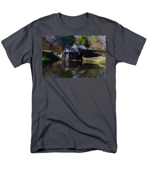 Mabrys Mill On The Blue Ridge Men's T-Shirt  (Regular Fit)