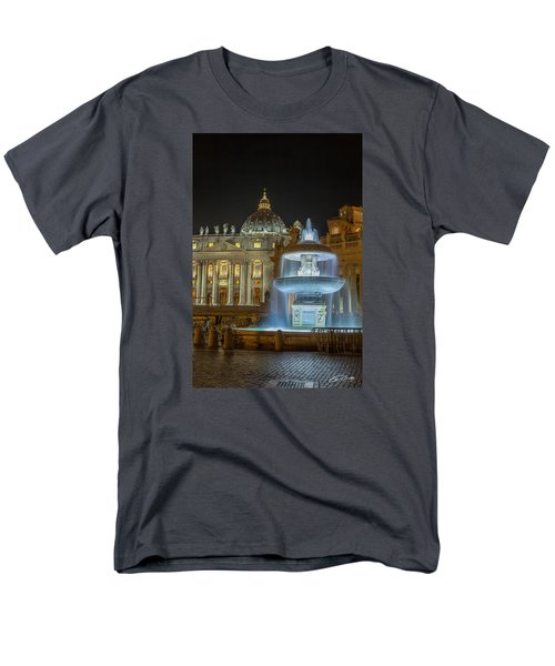 Maderno's Fountain Men's T-Shirt  (Regular Fit) by Ed Cilley