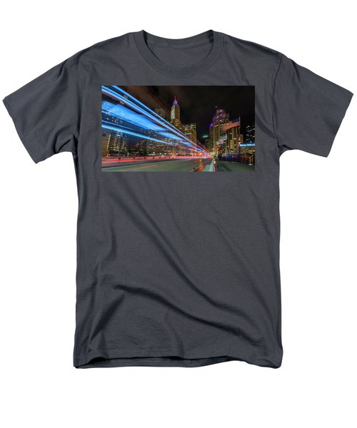 Men's T-Shirt  (Regular Fit) featuring the photograph Mag Mile Warp Speed by Sean Foster