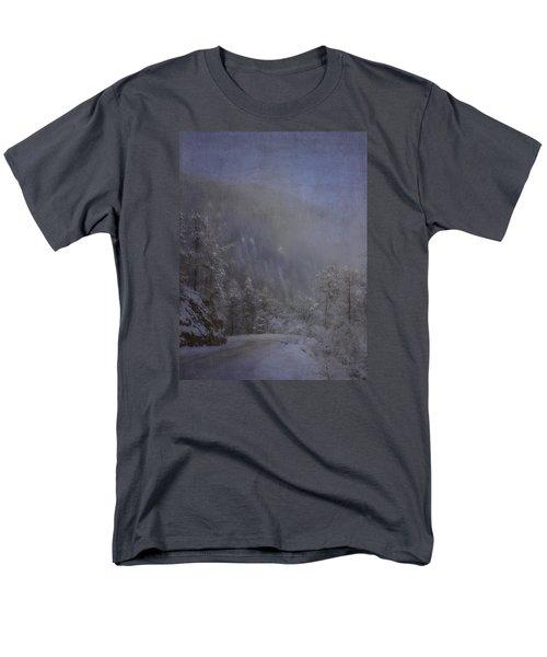 Men's T-Shirt  (Regular Fit) featuring the photograph Magical Winter Day by Ellen Heaverlo