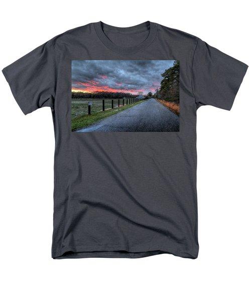 Main Sunset Men's T-Shirt  (Regular Fit) by John Loreaux