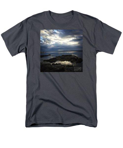 Maine Drama Men's T-Shirt  (Regular Fit) by LeeAnn Kendall