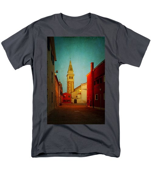 Men's T-Shirt  (Regular Fit) featuring the photograph Malamocco Dusk No1 by Anne Kotan