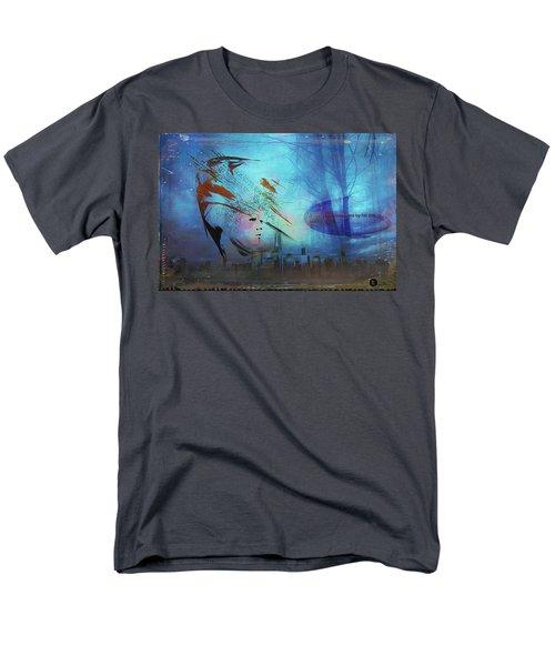Man Is Art Men's T-Shirt  (Regular Fit)