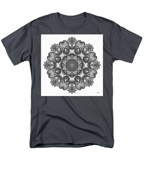 Mandala To Color 2 Men's T-Shirt  (Regular Fit) by Mo T