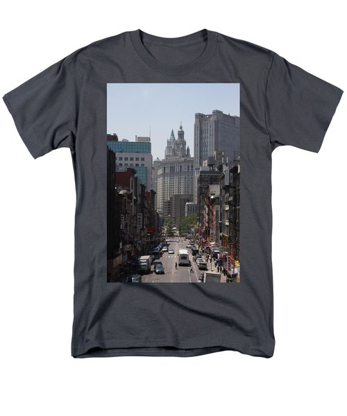 Manhattan Chinatown Men's T-Shirt  (Regular Fit) by Vadim Levin