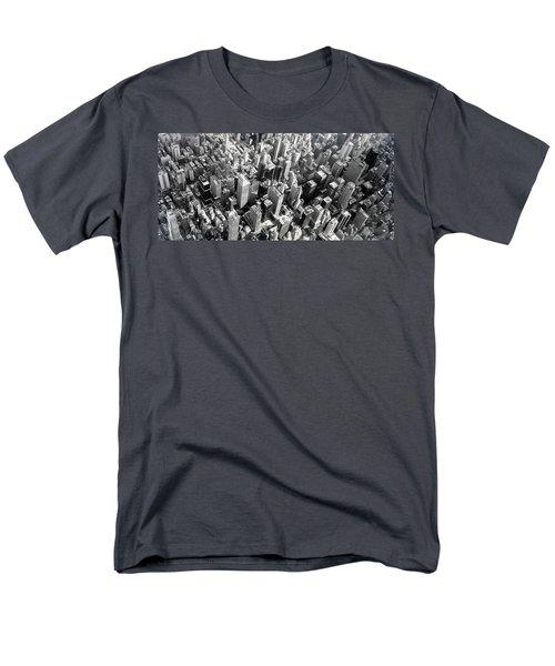 Men's T-Shirt  (Regular Fit) featuring the photograph Manhattan  by Chris Fraser