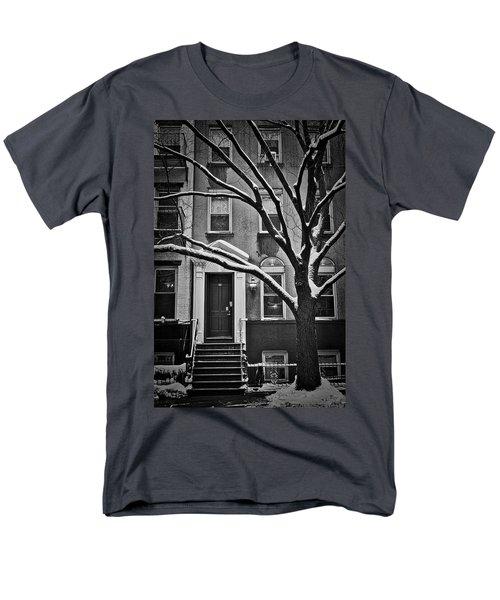 Manhattan Town House Men's T-Shirt  (Regular Fit) by Joan Reese