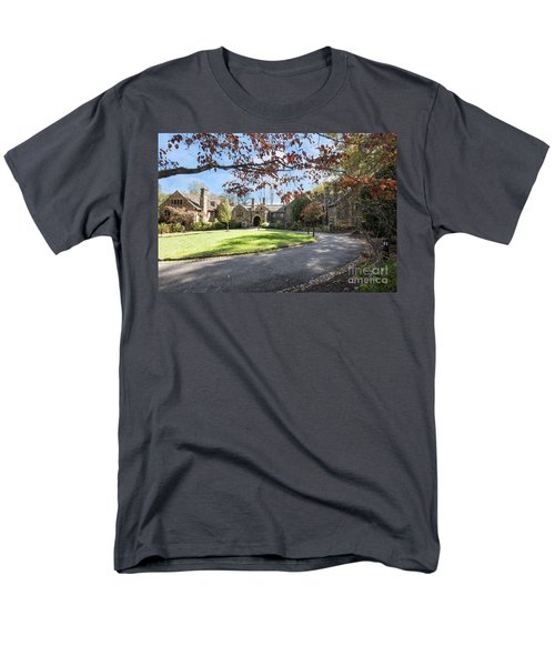 Mansion At Ridley Creek Men's T-Shirt  (Regular Fit) by Judy Wolinsky