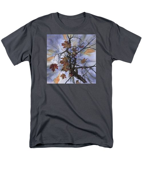 Maple Autumn Splash Men's T-Shirt  (Regular Fit) by Carolyn Doe