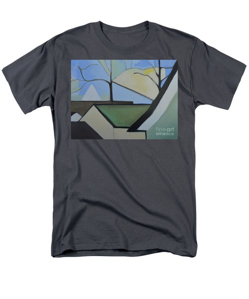 Maplewood Men's T-Shirt  (Regular Fit) by Ron Erickson