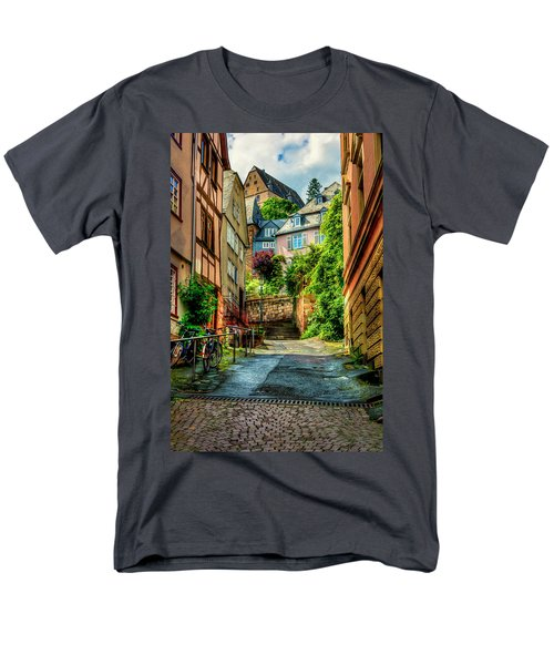 Men's T-Shirt  (Regular Fit) featuring the photograph Marburg Alley by David Morefield