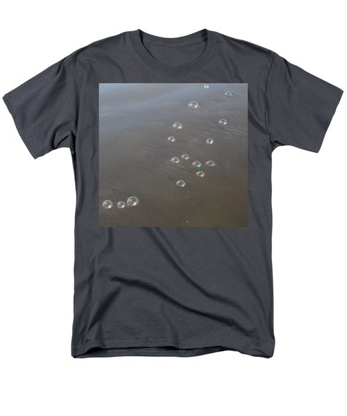 Men's T-Shirt  (Regular Fit) featuring the photograph March Of The Bubbles by Marie Neder