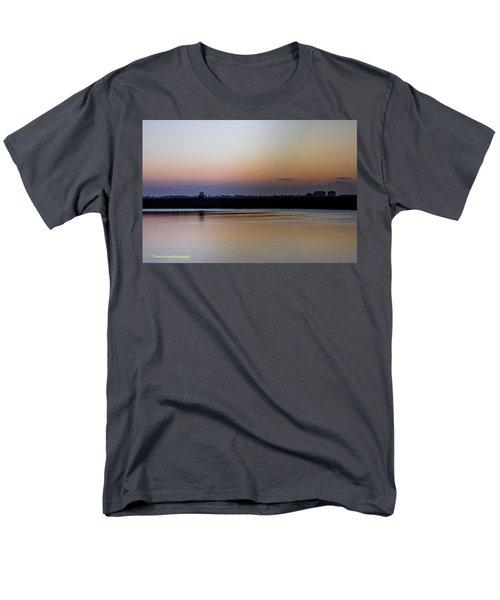 March Pre-sunrise Men's T-Shirt  (Regular Fit) by Nance Larson