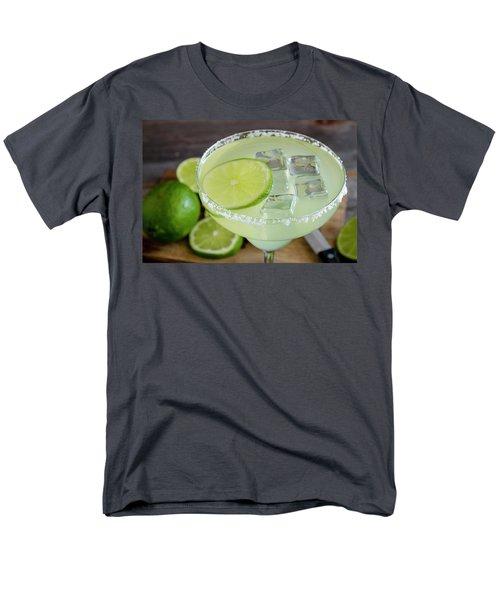 Men's T-Shirt  (Regular Fit) featuring the photograph Margarita Close Up by Teri Virbickis