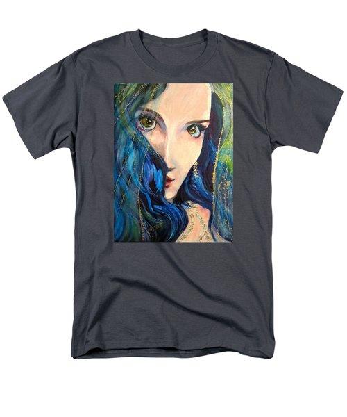 Mariah Blue Men's T-Shirt  (Regular Fit) by Barbara O'Toole
