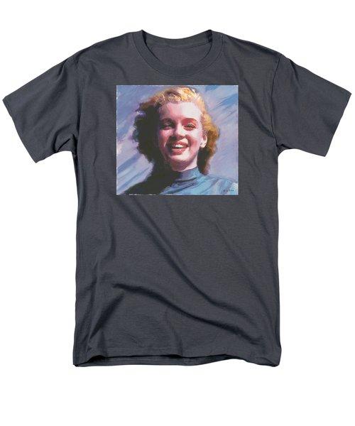 Marilyn Men's T-Shirt  (Regular Fit) by David Klaboe