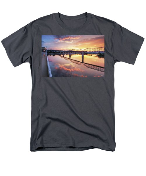 Market Street Jog At Sunrise Men's T-Shirt  (Regular Fit) by Steven Llorca
