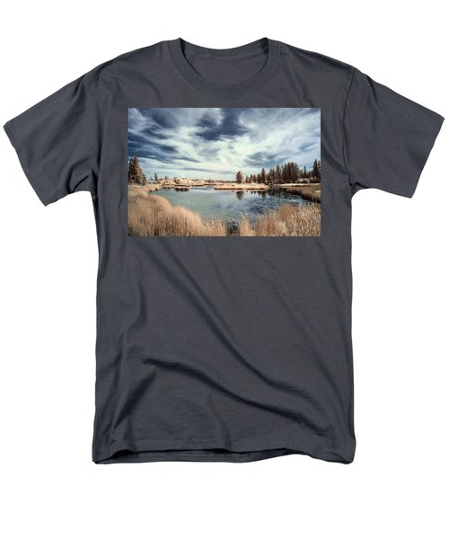 Marshlands In Washington Men's T-Shirt  (Regular Fit) by Jon Glaser