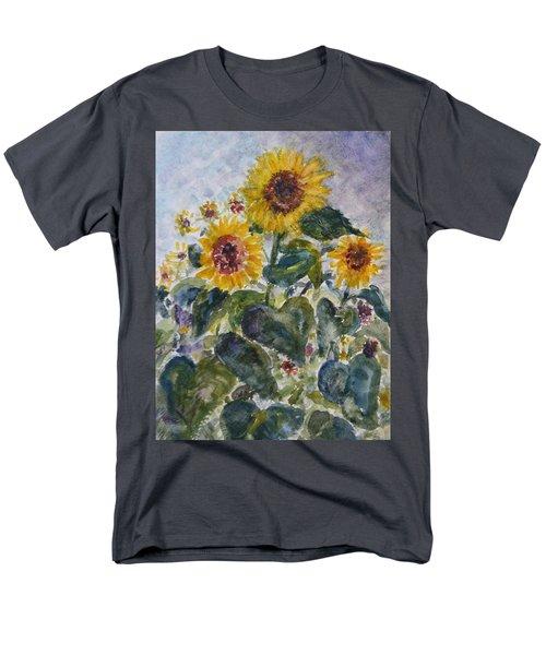 Martha's Sunflowers Men's T-Shirt  (Regular Fit) by Quin Sweetman