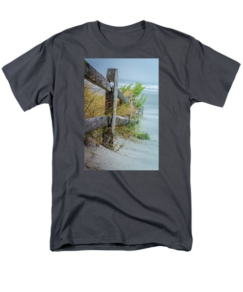 Marvel Of An Ordinary Fence Men's T-Shirt  (Regular Fit) by Patrice Zinck