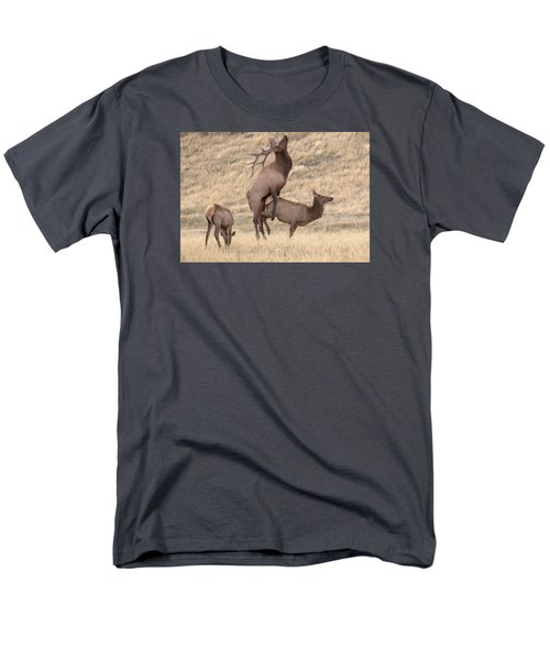 Men's T-Shirt  (Regular Fit) featuring the photograph Mating  by Kelly Marquardt