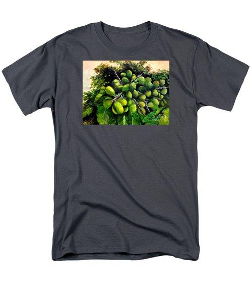 Men's T-Shirt  (Regular Fit) featuring the painting Matoa Fruit by Jason Sentuf