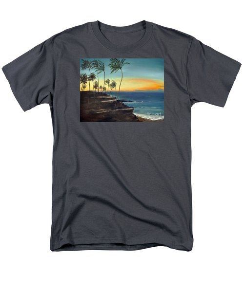 Men's T-Shirt  (Regular Fit) featuring the painting Maui by Carol Sweetwood