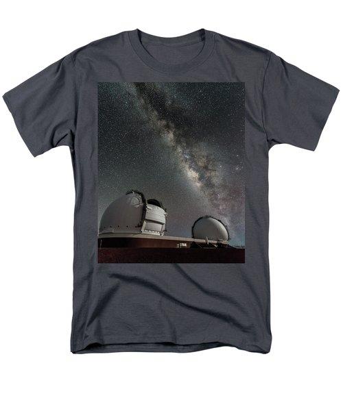 Mauna Kea Night Men's T-Shirt  (Regular Fit) by Allen Biedrzycki