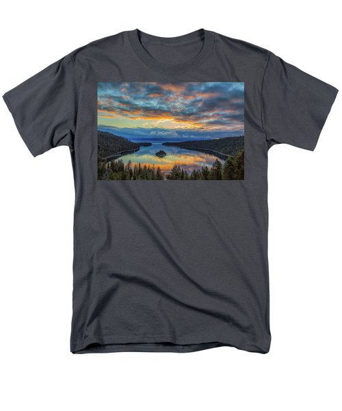 May Sunrise At Emerald Bay Men's T-Shirt  (Regular Fit) by Marc Crumpler
