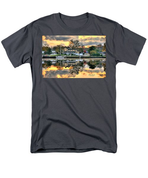 Mays Landing Morning Men's T-Shirt  (Regular Fit) by John Loreaux