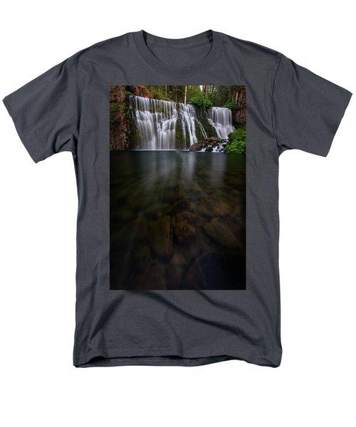 Men's T-Shirt  (Regular Fit) featuring the photograph Mccloud Falls by Dustin LeFevre