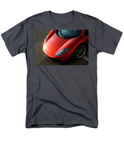 Men's T-Shirt  (Regular Fit) featuring the photograph Mclaren Hood by Joel Witmeyer