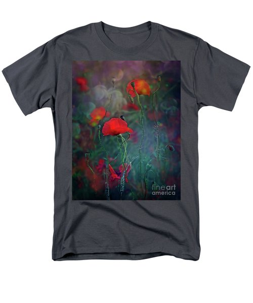 Meadow In Another Dimension Men's T-Shirt  (Regular Fit) by Agnieszka Mlicka