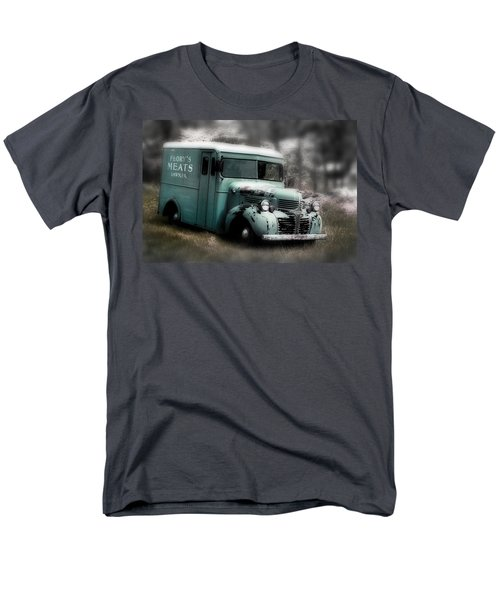 Meat Truck Men's T-Shirt  (Regular Fit) by Gray  Artus