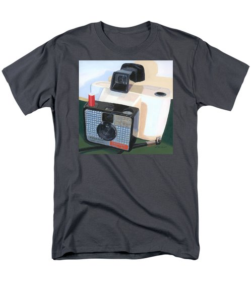 Men's T-Shirt  (Regular Fit) featuring the painting Meet The Swinger by Lynne Reichhart