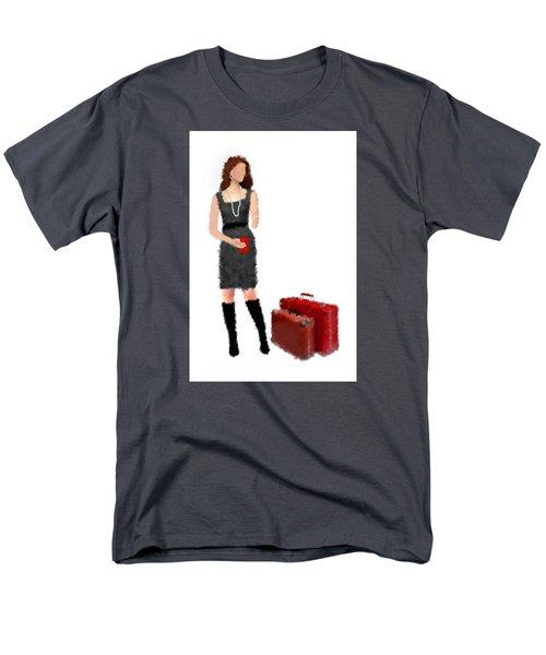 Men's T-Shirt  (Regular Fit) featuring the digital art Melanie by Nancy Levan